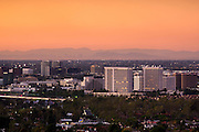 Irvine, Orange County, California At Sunset
