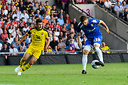 Mateusz Klich (43) of Leeds United during the Pre-Season Friendly match between Oxford United and Leeds United at the Kassam Stadium, Oxford, England on 24 July 2018. Picture by Graham Hunt.