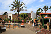 Art Centre, Centro de Arte Canario Casa Manne, La Oliva, Fuerteventura, Canary Islands, Spain