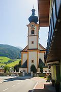 Austria, Tyrol, Mittersill St. Leonhard's Church