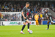 Josh Knight of Leicester City (34) in action during the Pre-Season Friendly match between Scunthorpe United and Leicester City at Glanford Park, Scunthorpe, England on 16 July 2019.