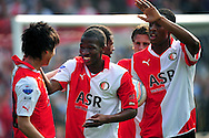 Onderwerp/Subject: Feyenoord - Eredivisie<br /> Reklame:  <br /> Club/Team/Country: Feyenoord<br /> Seizoen/Season: 2010/2011<br /> FOTO/PHOTO: Feyenoord's Ryo MIYAICHI (L) celebrating his goal with Feyenoord's Kamohelo MOKOTJO (R). (Photo by PICS UNITED)<br /> <br /> Trefwoorden/Keywords:  <br /> #02 $94 &plusmn;1279295324043<br /> Photo- &amp; Copyrights &copy; PICS UNITED <br /> P.O. Box 7164 - 5605 BE  EINDHOVEN (THE NETHERLANDS) <br /> Phone +31 (0)40 296 28 00 <br /> Fax +31 (0) 40 248 47 43 <br /> http://www.pics-united.com <br /> e-mail : sales@pics-united.com (If you would like to raise any issues regarding any aspects of products / service of PICS UNITED) or <br /> e-mail : sales@pics-united.com   <br /> <br /> ATTENTIE: <br /> Publicatie ook bij aanbieding door derden is slechts toegestaan na verkregen toestemming van Pics United. <br /> VOLLEDIGE NAAMSVERMELDING IS VERPLICHT! (&copy; PICS UNITED/Naam Fotograaf, zie veld 4 van de bestandsinfo 'credits') <br /> ATTENTION:  <br /> &copy; Pics United. Reproduction/publication of this photo by any parties is only permitted after authorisation is sought and obtained from  PICS UNITED- THE NETHERLANDS
