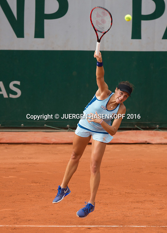 Tatjana Maria (GER)<br /> <br /> Tennis - French Open 2016 - Grand Slam ITF / ATP / WTA -  Roland Garros - Paris -  - France  - 26 May 2016.