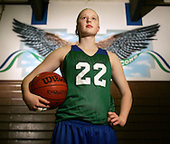 "LeeAnn Palo of Woodinville dubbed the ""Angelic Assassin"". (Photo John Froschauer)"