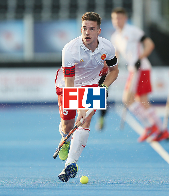 LONDON, ENGLAND - JUNE 15: Phil Roper of England during the Hero Hockey World League Semi Final match between England and China at Lee Valley Hockey and Tennis Centre on June 15, 2017 in London, England.  (Photo by Alex Morton/Getty Images)
