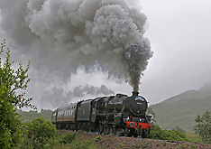 Jacobite Steam Train | Glenfinnan | 10 July 2016