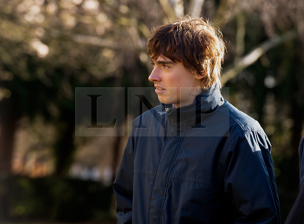 © Licensed to London News Pictures. 09/03/2020. London, UK. LIAM GALLAGHER's son, GENE GALLAGHER arrives at Wood Green Crown Court. He along with RINGO STARR'S grandson SONNY STARKEY and IMG model NOAH PONTE have been charged with affray and and racially aggravated common assault following a late-night incident at a Tesco Express store on Heath Street in Hampstead on May 17 2019. Photo credit: Dinendra Haria/LNP