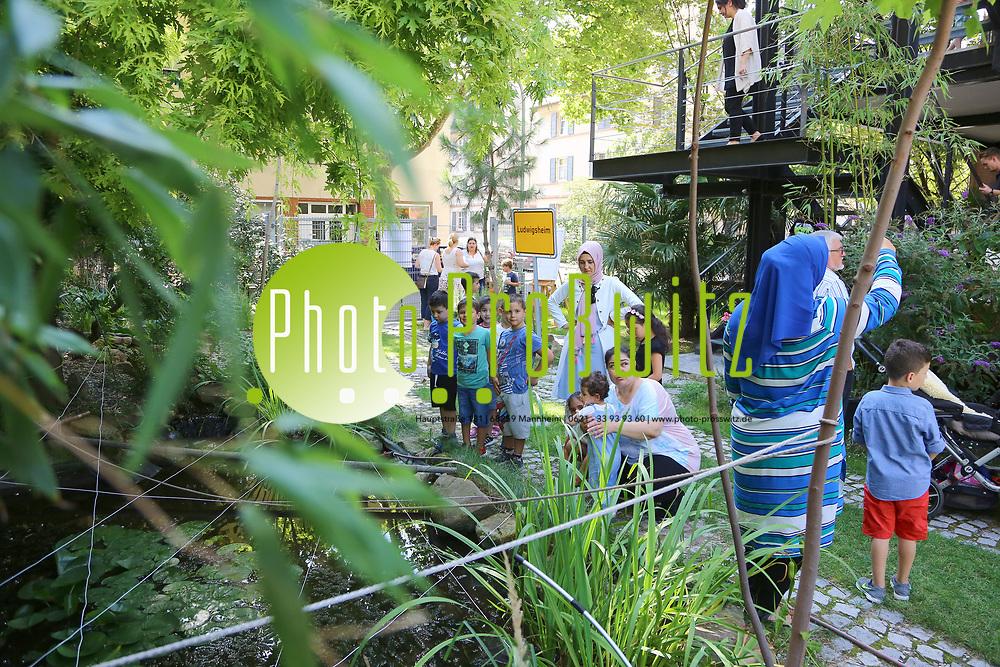 Ludwigshafen. 23.08.17   Kultur-Sommerfest<br /> Hemshof. Kultur Sommerfest im kulTirm. Kinderprogramm<br /> <br /> <br /> BILD- ID 0217  <br /> Bild: Markus Prosswitz 23AUG17 / masterpress (Bild ist honorarpflichtig - No Model Release!)