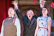 Dress rehearsal of The Sorcerer performed by the National Gilbert & Sullivan Opera Company with the National Festival Orchestra in Buxton Opera House, Buxton, England on Saturday 04 August 2018 Photo: Jane Stokes<br /> <br /> Director: John Savournin<br /> Conductor: James Hendry<br /> Choreographer: Damian Czarnecki<br /> <br /> CAST<br /> <br /> SIR MARMADUKE POINTDEXTRE/Eddie Wade<br /> ALEXIS/Nick Sales<br /> DR DALY/Matthew Kellett<br /> NOTARY/Stephen Godward<br /> JOHN WELLINGTON WELLS/ Richard Gauntlett<br /> LADY SANGAZURE/Mae Hendorn<br /> ALINE/Ellen Williams<br /> MRS PARTLET/Ros Griffiths<br /> CONSTANCE/Emma Watkinson<br /> <br /> THE CHORUS<br /> <br /> Hannah Boxall, Nicole Boardman, Rhiannon Doogan, Joanna Goldspink, Alexandra Hazard, Maisy Hepburn, Juliet Montgomery, Jennifer Parker, Julie Power, Stephanie Poropat, Eloise Waterhouse<br /> <br /> Andrew Brown, Tom Blackwell, Peter Brooks, Stephen Fawell, Matthew Kellett, Michael Vincent Jones, Matthew Siveter, Henry Smith, Jonathan Stevens, Tim Southgate<br /> <br /> PRODUCTION TEAM<br /> <br /> TOUR MANAGER/Neil Smith<br /> STAGE MANAGER/Sarah Kent<br /> ASSISTANT STAGE MANAGER/Claire Litton<br /> LIGHTING DESIGN/David Marsden<br /> WARDROBE SUPERVISOR/ David Morgan<br /> SET DESIGN/ Paul Lazell<br /> REPETITEUR/Erica Gundesen