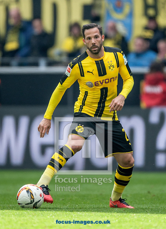 Gonzalo Castro of Borussia Dortmund during the Bundesliga match at Signal Iduna Park, Dortmund<br /> Picture by EXPA Pictures/Focus Images Ltd 07814482222<br /> 14/05/2016<br /> ***UK &amp; IRELAND ONLY***<br /> EXPA-EIB-160515-0079.jpg