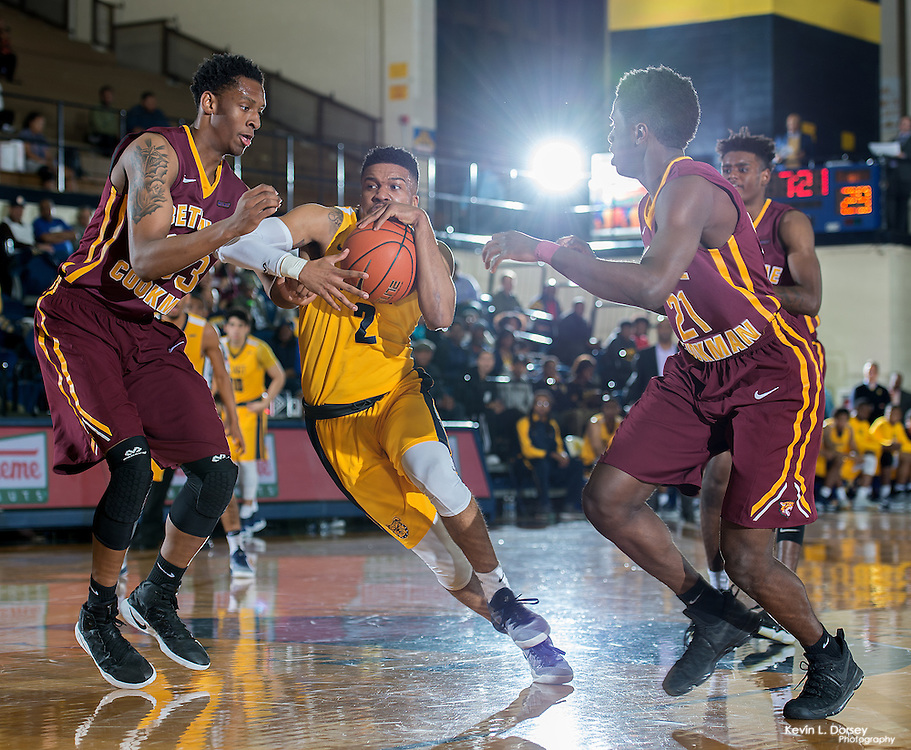 2016-17 A&T Men's Basketball vs Bethune-Cookman \ www.ncataggies.com - Photo by: Kevin L. Dorsey