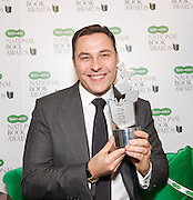 The Specsavers National Book Awards 2012 <br /> 4th December 2012 <br /> in Central London, Great Britain <br /> <br /> Hosted by Lorraine Kelly <br /> with Dame Mary Perkins (Specsavers)<br /> <br /> The winners in all categories:<br /> <br /> Autobiography/Biography of the Year<br /> My Animals and Other Family by Clare Balding (Viking Adult)<br /> <br /> Specsavers Popular Fiction Book of the Year<br /> Fifty Shades of Grey by E. L. James (Arrow)<br /> <br /> Crime Book of the Year available on iBookstore<br /> A Wanted Man by Lee Child (Bantam Press)<br /> <br /> Outstanding Achievement Award<br /> Ian Rankin<br /> <br /> WHSmith Food & Drink Book of the Year<br /> The Hairy Dieters by Si King & Dave Myers (Weidenfeld & Nicholson)<br /> <br /> International Author of the Year in partnership with Google Play™<br /> The Snow Child by Eowyn Ivey (Headline Review)<br /> <br /> Magic FM Non-fiction Book of the Year<br /> Is It Just Me by Miranda Hart (Hodder and Stoughton)<br /> <br /> Waterstones UK Author of the Year<br /> Bring Up The Bodies by Hilary Mantel (4th Estate)<br /> <br /> National Book Tokens Children's Book of the Year<br /> Ratburger by David Walliams (HarperCollins Children's)<br /> <br /> Audible.co.uk Audiobook of the Year<br /> The Woman Who Went to Bed for a Year by Sue Townsend, read by Caroline Quentin (Whole Story Audiobooks)<br /> <br /> New Writer of the Year<br /> The Unlikely Pilgrimage of Harold Fry by Rachel Joyce (Doubleday)<br /> <br /> Photograph by Elliott Franks <br /> contact<br /> elliott@elliottfranks.com<br /> www.elliottfranks.com