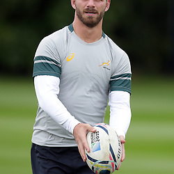 EASTBOURNE, ENGLAND - SEPTEMBER 14: Willie le Roux during the 2015 Rugby Wolrd Cup Springboks training session at Eastbourne College on September 14, 2015 in Eastbourne, England. (Photo by Steve Haag Emirates)