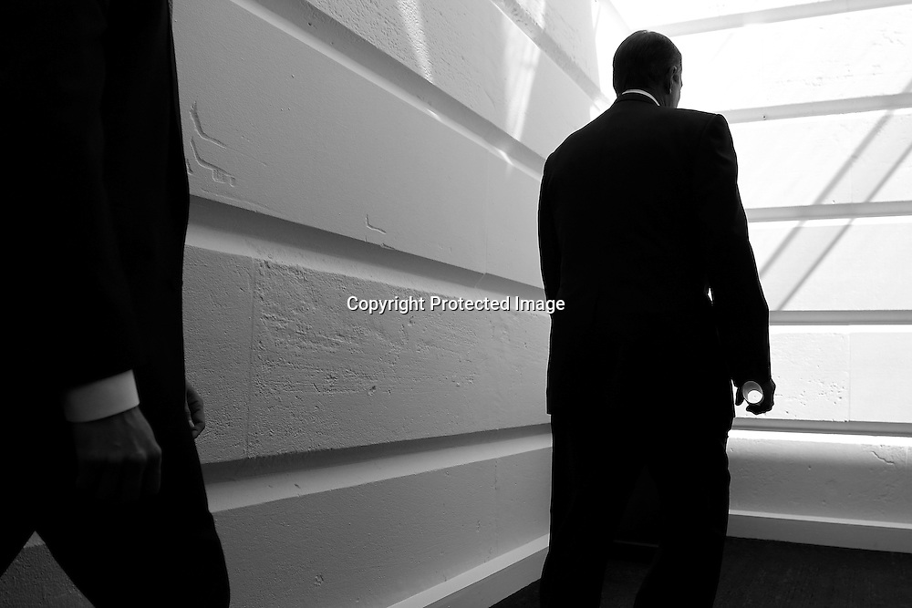 U.S. House Speaker John Boehner (R-OH) arrives for a meeting with fellow House Republicans at the U.S. Capitol in Washington, September 30, 2013. Republicans in the U.S. House of Representatives will make yet another attempt to change President Barack Obama's healthcare law by attaching it to a government funding bill needed by midnight Monday.