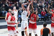 Pleiss Tibor, EA7 Emporio Armani Milano vs Galatasaray Odeabank Istanbul, EuroLega 2016/2017, Mediolanum Forum Milano 19 gennaio 2017