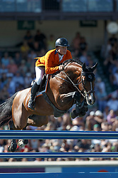 Greve Willem, (NED), Carambole<br /> BMO Nations Cup<br /> Spruce Meadows Masters - Calgary 2015<br /> © Hippo Foto - Dirk Caremans<br /> 12/09/15