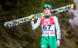 19.12.2014, Nordische Arena, Ramsau, AUT, FIS Nordische Kombination Weltcup, Skisprung, Training, im Bild Johannes Rydzek (GER) // during Ski Jumping of FIS Nordic Combined World Cup, at the Nordic Arena in Ramsau, Austria on 2014/12/19. EXPA Pictures © 2014, EXPA/ JFK