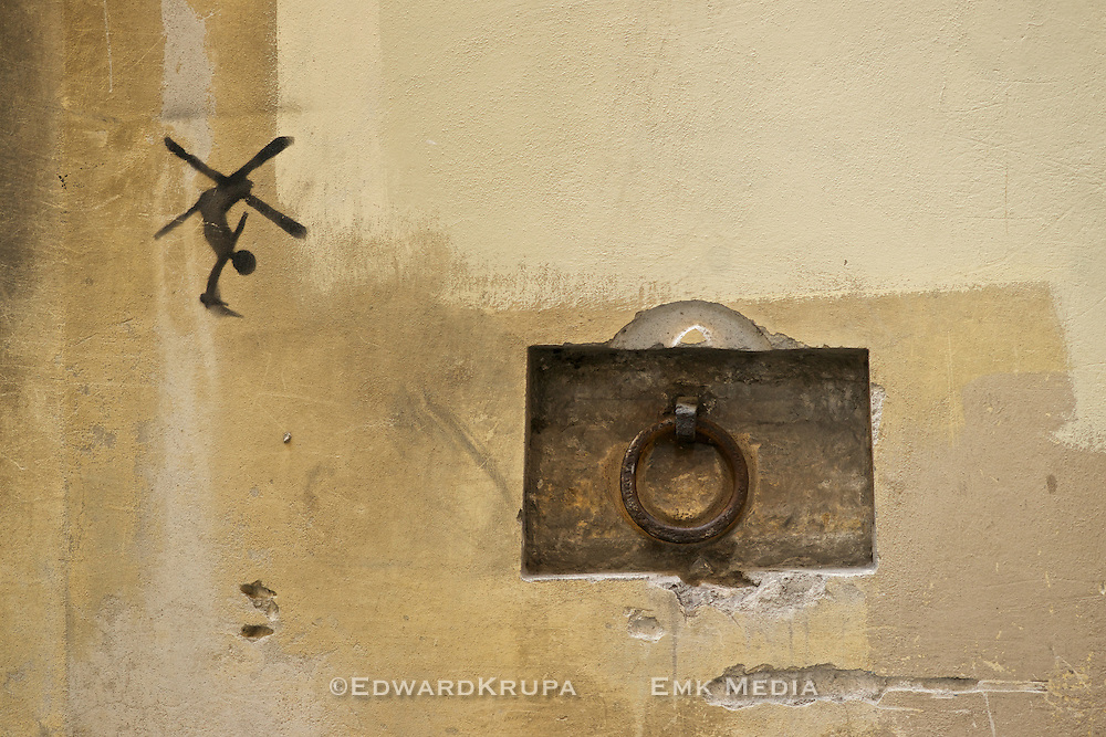 Wall in Florence.