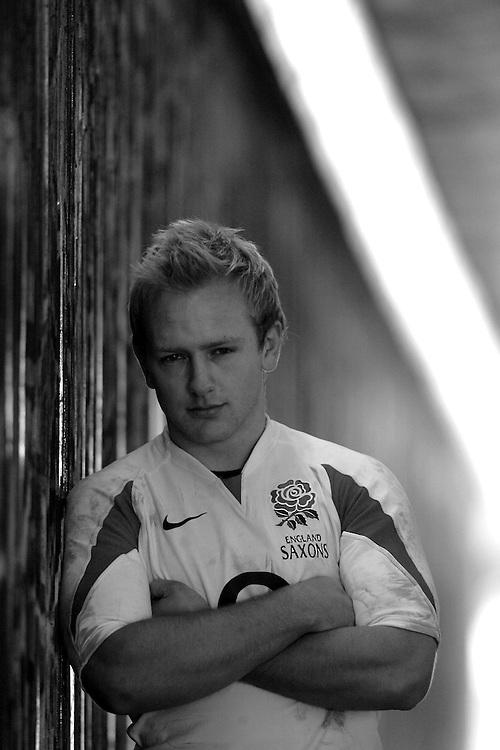 England and London Irish Rugby player Shane Geraghty. Twickenham, Middlesex,  13th March 2008.