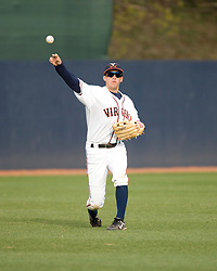 Virginia Cavaliers OF John Barr (7).  The #16 ranked Virginia Cavaliers baseball team defeated the Radford Highlanders 8-2 at the University of Virginia's Davenport Field in Charlottesville, VA on March 11, 2008.