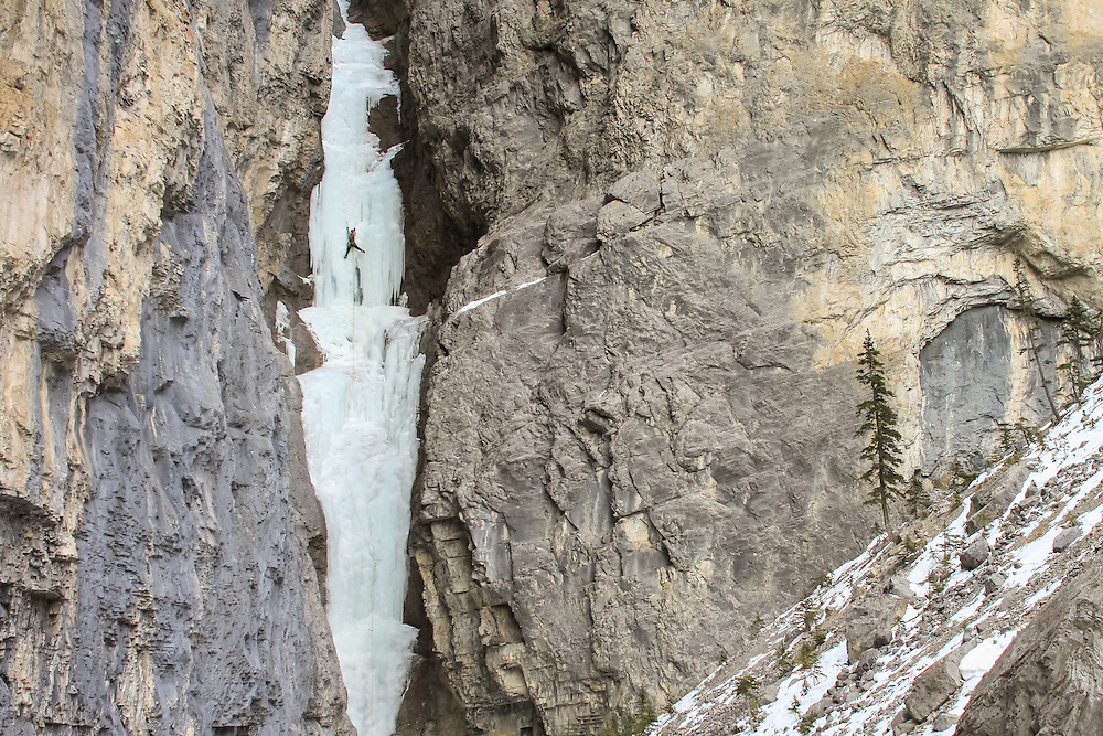 Ice Climbing in the Ghost