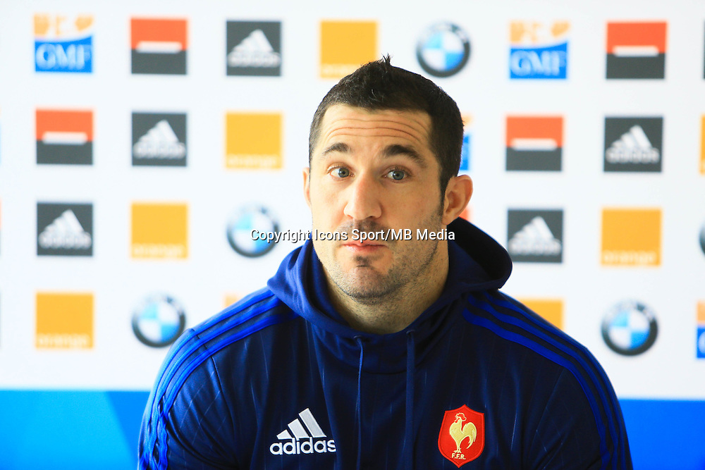 Scott SPEDDING - 27.01.2015 - Conference de Presse - XV de France - Canet en Roussillon -<br />