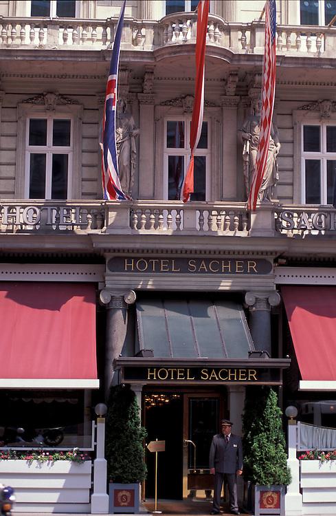 Hotel Sacher, Philarmoniker Strasse, Vienna, Austria