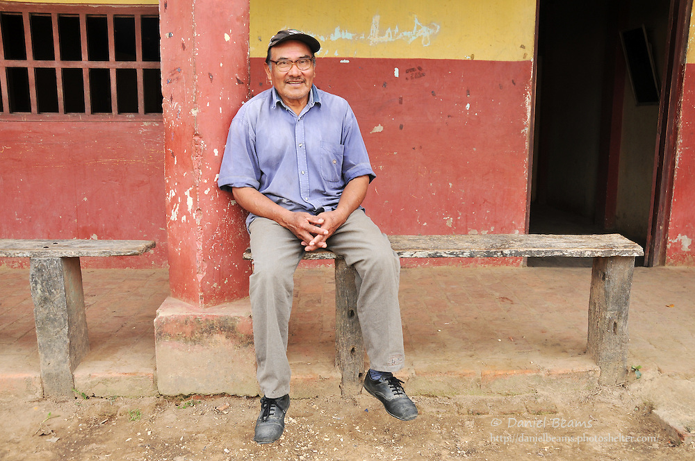 Local resident of San Lorenzo de Moxos, Beni, Bolivia