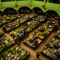 Pasar Siti Khadijah is the Kota Bharu Central Market, where many goods are sold.<br /> Its the famous shopping destination in Kota Bharu.