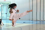 Tae Kwon Do flying kick