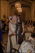 MADISON BRIGGS; OLIVIA WOODHEAD;  Oxford University Polo club Ball, Blenheim Palace. Woodstock. 6 March 2015