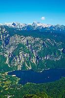 Slovenie, region de Gorenjska, Bohinj, parc national du Triglav, lac de Bohinj // Slovenia, Gorenjska region, Triglav National Park, Bohinj lake