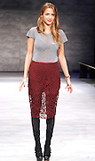 Designer Charlotte Ronson appears at her presentation during the Mercedes-Benz Fall/Winter 2015 shows at the Pavilliion in Lincoln Center in New York City, New York on February 13, 2015.