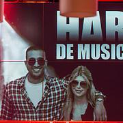 NLD/Amsterdam/20130828- Vara Najaarspresentatie 2013, bord Badr Hari de musical