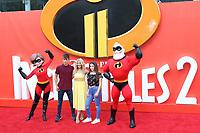 Melinda Messenger, Incredibles 2 - UK Premiere, BFI Southbank, London, UK, 08 July 2018, Photo by Richard Goldschmidt