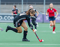 AMSTELVEEN  - Alessia Norbiato (Adam) tijdens de hoofdklasse competitiewedstrijd hockey dames , Amsterdam-Laren (3-0)  , COPYRIGHT KOEN SUYK