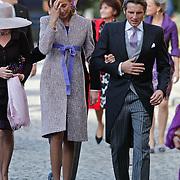 BEL/Brussel/20101120 - Huwelijk prinses Annemarie de Bourbon de Parme-Gualtherie van Weezel en bruidegom Carlos de Borbon de Parme, Maurits en Marilene