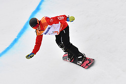SALT Michelle CAN competing in ParaSnowboard, Snowboard Banked Slalom at  the PyeongChang2018 Winter Paralympic Games, South Korea.