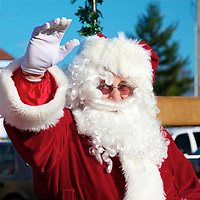 Santa's Visit to Sequim 2012