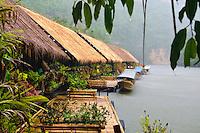 Kwai River Jungle Rafts in Kanchanaburi Province, Thailand