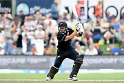 Ross Taylor of the Black Caps during the ANZ One Day International match between the Black Caps and Bangladesh, played at the University Oval, Dunedin, New Zealand, on February 20, 2019. Copyright Image: Joe Allison / www.Photosport.nz