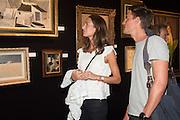 LAURA HOLDSWORTH; RORY NORMANTON, The LAPADA Art & Antiques Fair - private view, Berkeley Sq. London. 12  September 2016