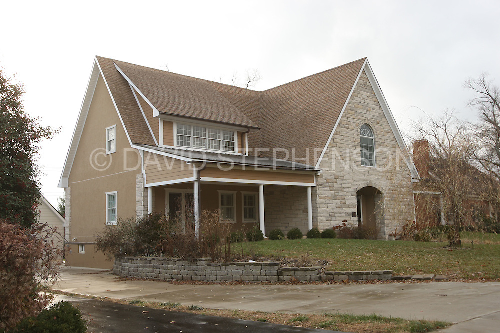 This house at 1090 Lakewood Drive is primary asset in a bankruptcy claim by Dudley Baesler, pictured in Lexington, Ky., on Monday, December 1, 2008. Photo by David Stephenson | Staff 7086