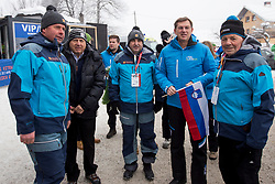 Prime minister, Miro Cerar during 1st run of Men's Slalom race of FIS Alpine Ski World Cup 57th Vitranc Cup 2018, on March 4, 2018 in Kranjska Gora, Slovenia. Photo by Urban Urbanc / Sportida