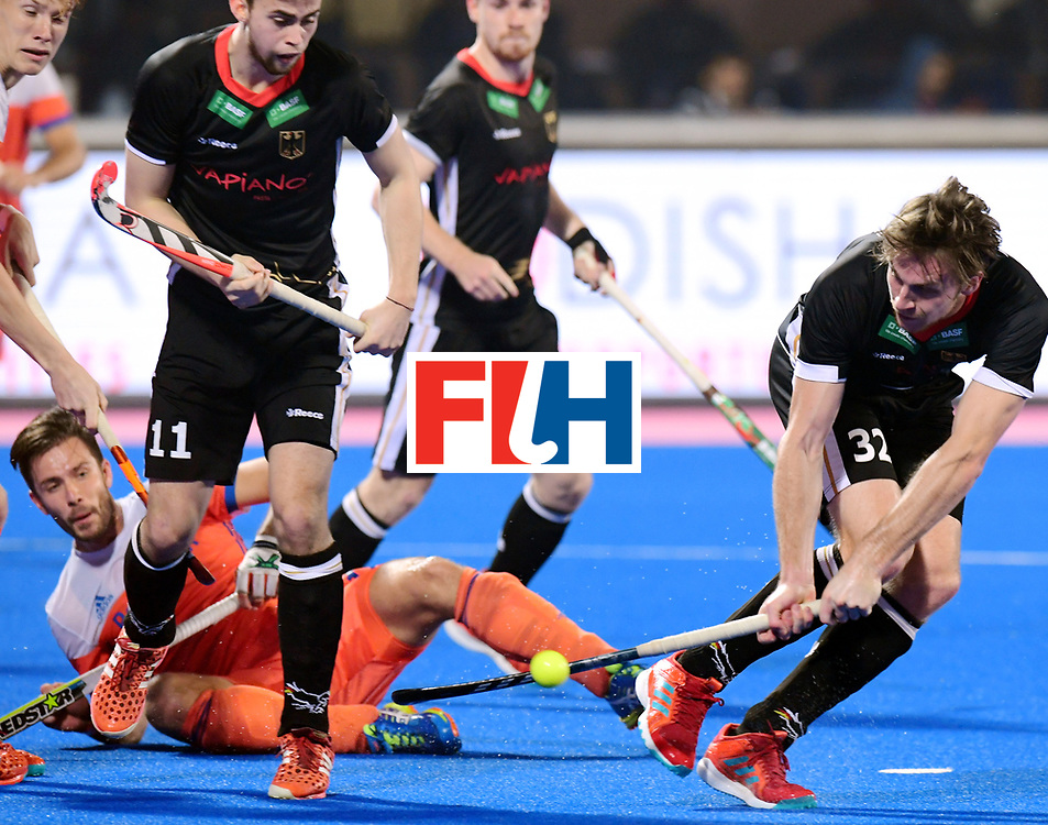 Odisha Men's Hockey World League Final Bhubaneswar 2017<br /> Match id:16<br /> Germany v Netherlands<br /> Foto: Niklas Bruns (Ger) <br /> COPYRIGHT WORLDSPORTPICS FRANK UIJLENBROEK