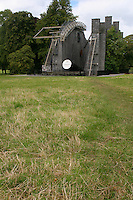"The Great 72"" Telescope built by Lord Rosse in the 1840's at Birr Castle County Offaly Ireland"