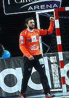 Arnaud Siffert - 15.03.2015 - Montpellier / Kielce - 1/8Finale aller Ligue des Champions<br /> Photo : Andre Delon / Icon Sport