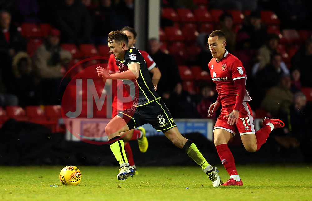 Ollie Clarke of Bristol Rovers runs with the ball - Mandatory by-line: Robbie Stephenson/JMP - 26/12/2017 - FOOTBALL - Banks's Stadium - Walsall, England - Walsall v Bristol Rovers - Sky Bet League One