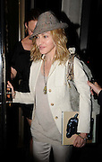 06.JULY.2009 - LONDON<br /> <br /> POP ICON MADONNA LEAVING LOCATELLI'S RESTAURANT, MAYFAIR AT 11.30PM ALL SMILES AFTER HAVING DINNER WITH GOOD FRIEND STELLA MACARTNEY AND HER DAD PAUL WHO LEFT OUT THE BACK DOOR.<br /> <br /> BYLINE MUST READ : EDBIMAGEARCHIVE.COM<br /> <br /> *THIS IMAGE IS STRICTLY FOR UK NEWSPAPERS & MAGAZINES ONLY*<br /> *FOR WORLDWIDE SALES & WEB USE PLEASE CONTACT EDBIMAGEARCHIVE - 0208 954-5968*