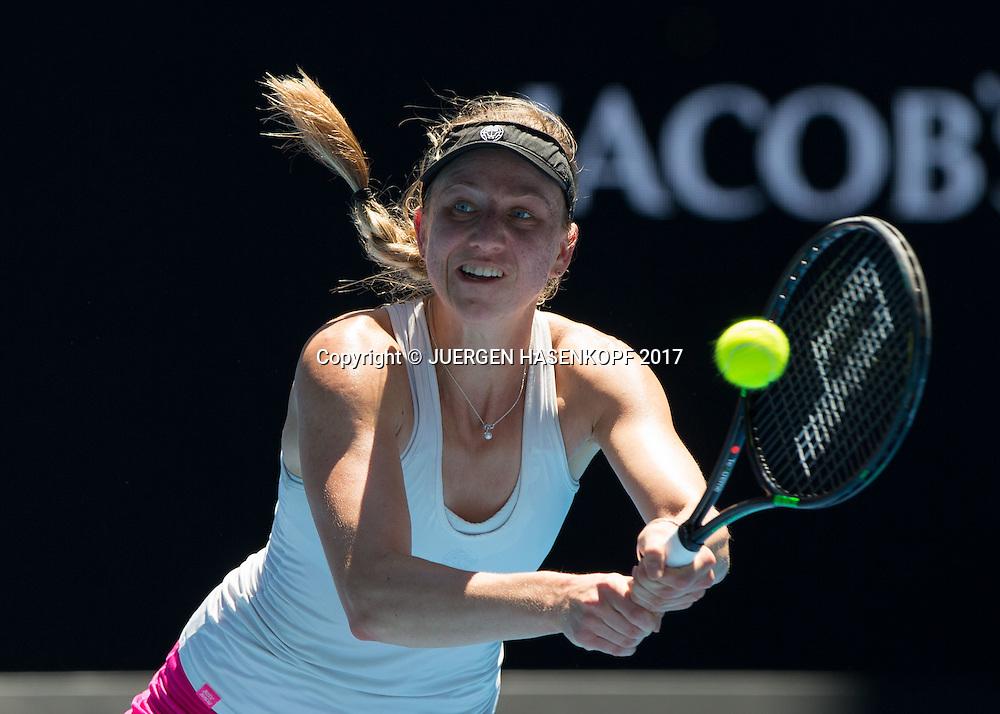 MONA BARTHEL (GER)<br /> <br /> Australian Open 2017 -  Melbourne  Park - Melbourne - Victoria - Australia  - 22/01/2017.